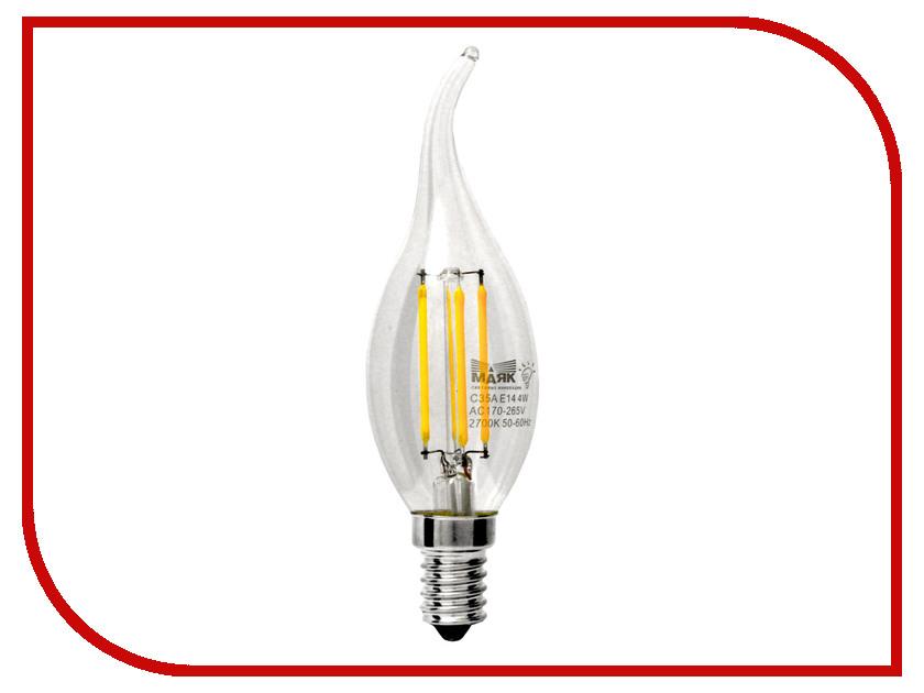 Маяк - Лампочка Маяк LBF-C35A-E14/4W/2700-001