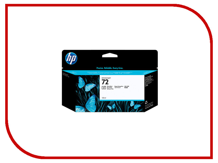 Картридж HP 72 C9370A 130ml Photo Black картридж для принтера hp 72 c9403a black