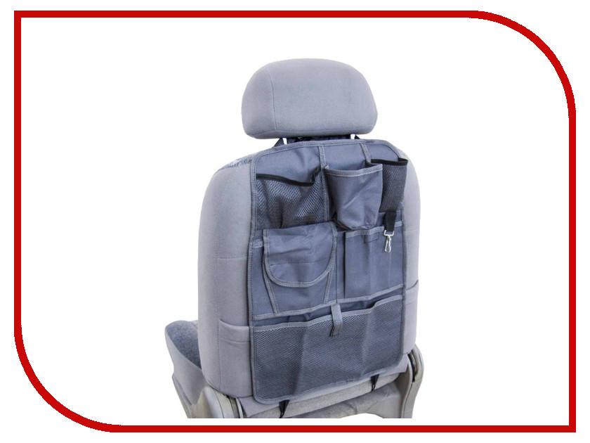 Органайзер Skyway Grey S06101001 на спинку переднего сиденья органайзер на спинку сиденья phantom kids ракета ph6520