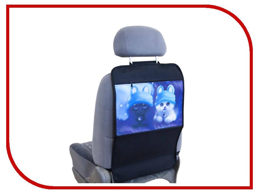 Органайзер Skyway Пушистики S06101005 на спинку переднего сиденья чехол на сиденье skyway chevrolet cobalt седан ch2 2