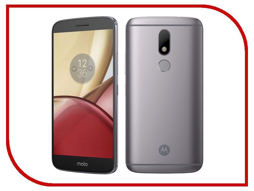 Сотовый телефон Motorola Moto M 32Gb XT1663 Gray смартфон motorola moto m xt1663 32gb grey