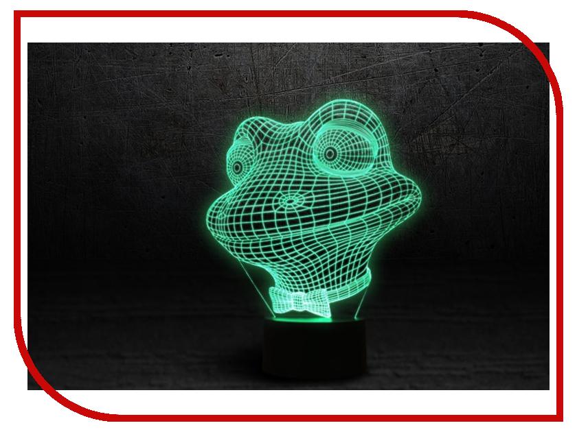 3D лампа 3d Lamp Лягушонок