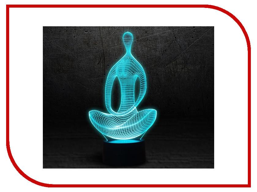 3D лампа 3d Lamp Медитация