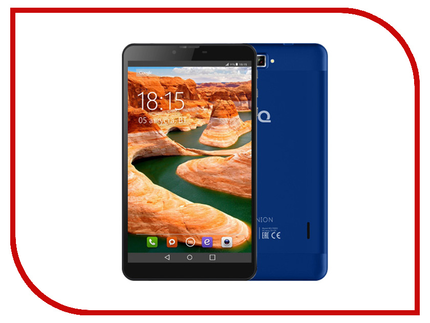 Планшет BQ BQ-7022G 3G Dark-Blue (SC7731 1.3 GHz/1024Mb/8Gb//3G/GPS/Cam/7.0/1280x800/Android)<br>