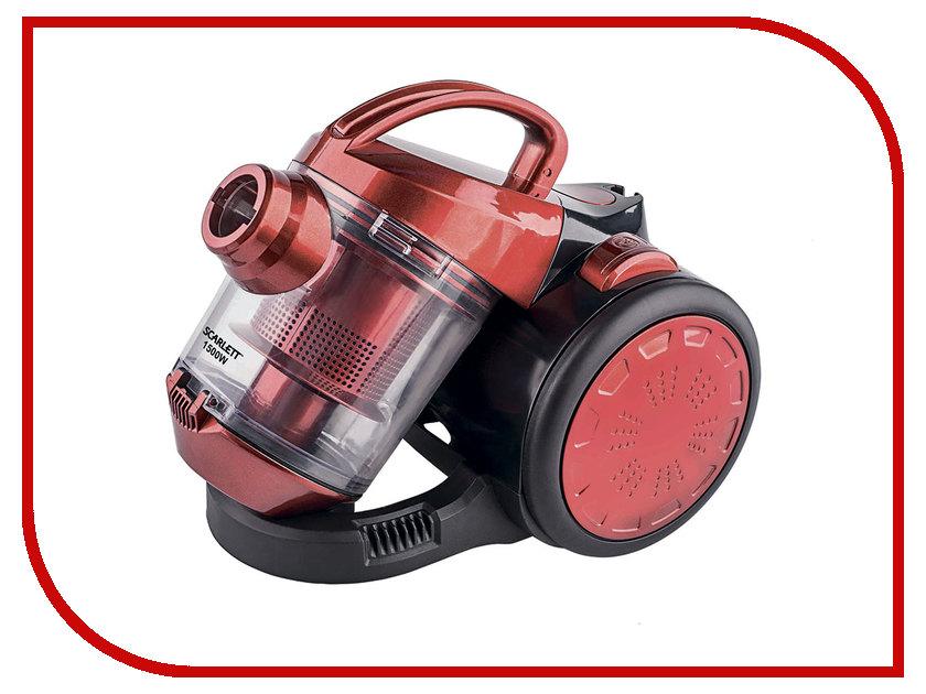 Пылесос Scarlett SC-VC80C01 Red масляный радиатор scarlett sc oh67b03 9 black