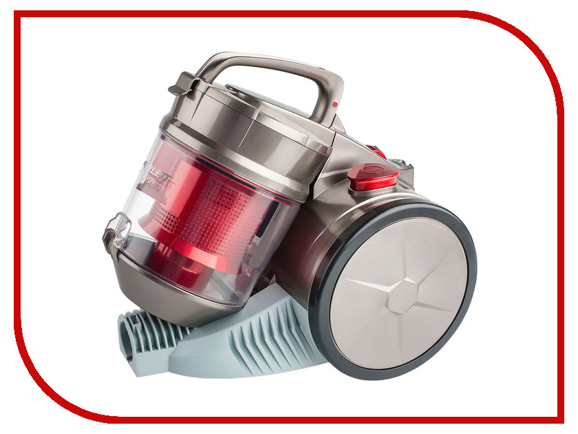 Пылесос Scarlett SC-VC80C04 Grey-Red масляный радиатор scarlett sc oh67b03 9 black