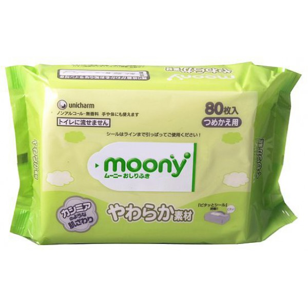 Салфетки Moony 80шт 4903111-181339 цена
