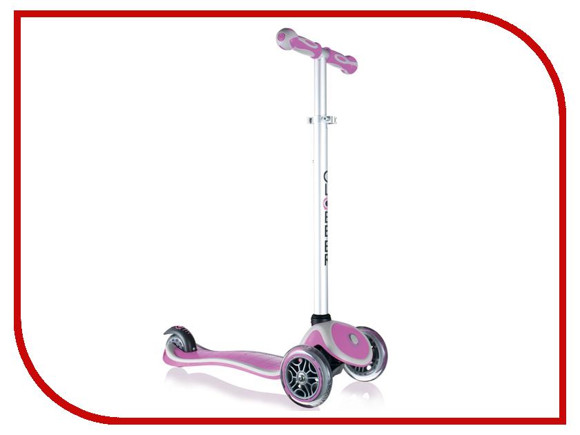 Самокат Y-SCOO Globber Primo Plus Pink со светящимися