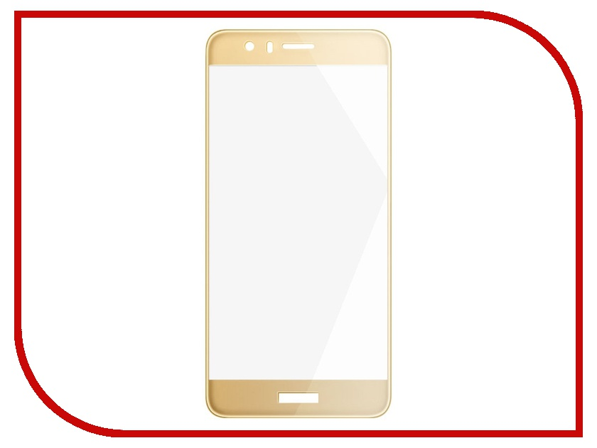 Аксессуар Защитное стекло Huawei Honor 8 Gecko 2D 0.26mm Gold ZS26-GHH8-2D-GOLD аксессуар защитное стекло huawei y7 prime gecko 0 26mm zs26 ghuay7