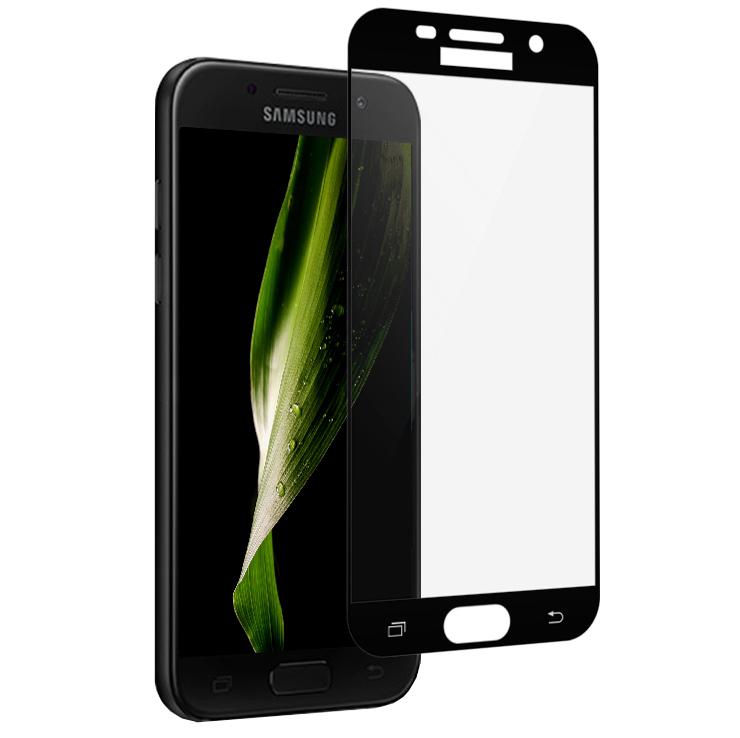 Аксессуар Защитное стекло для Samsung Galaxy A5 2017 A520F Gecko 2D 0.26mm Black ZS26-GSGA5-2017-2D-BL аксессуар чехол для samsung galaxy j7 j730 2017 gecko transparent glossy white s g sgj7 2017 wh