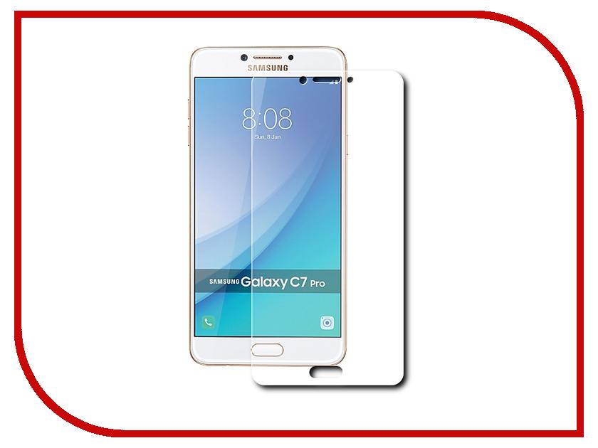 Аксессуар Защитное стекло Samsung Galaxy C7 Pro Gecko 0.26mm ZS26-GSGC7PRO