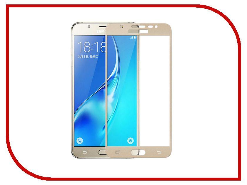 Аксессуар Защитное стекло Samsung Galaxy J7 Prime G610F Gecko 2D 0.26mm Gold ZS26-GSGJ7PR-2D-GOLD