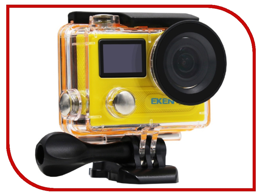 Экшн-камера EKEN H8PRO Ultra HD Yellow