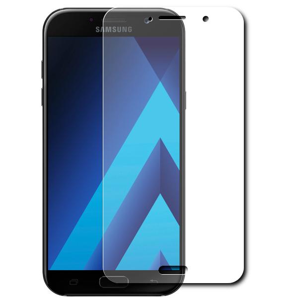 Аксессуар Защитное стекло Krutoff для Samsung Galaxy A5 2017 SM-A520F 0.26mm 20387 аксессуар защитное стекло samsung galaxy a5 2017 a520f svekla 3d white frame zs svsga520f 3dwh