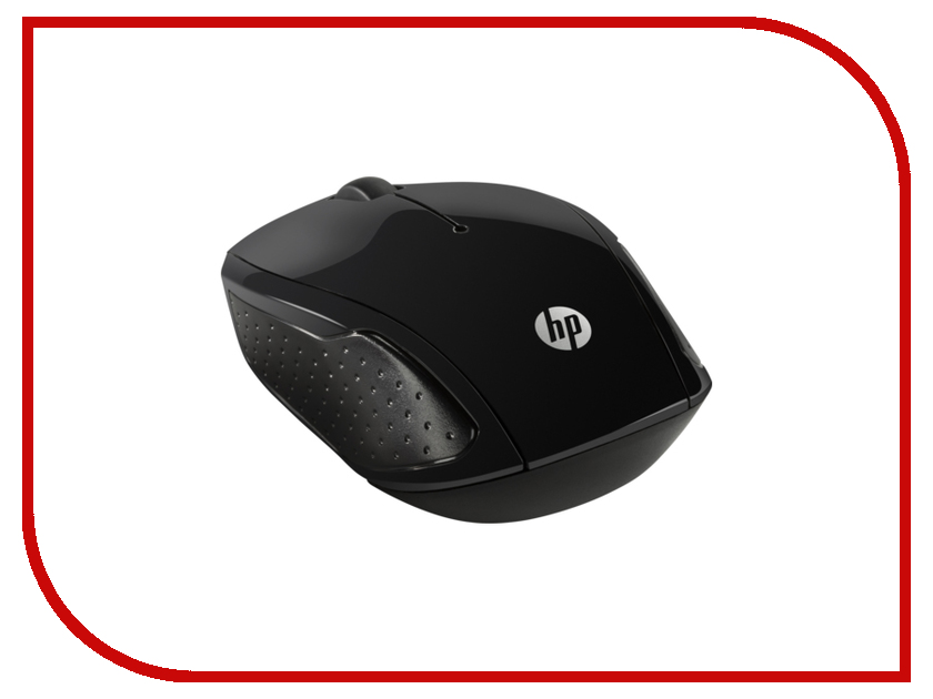 Мышь HP 200 X6W31AA Black hewlett packard hp лазерный мфу печать копирование сканирование