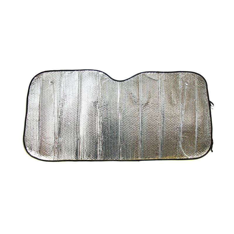 цена на Шторки Nova Bright 130х60см Silver 46480
