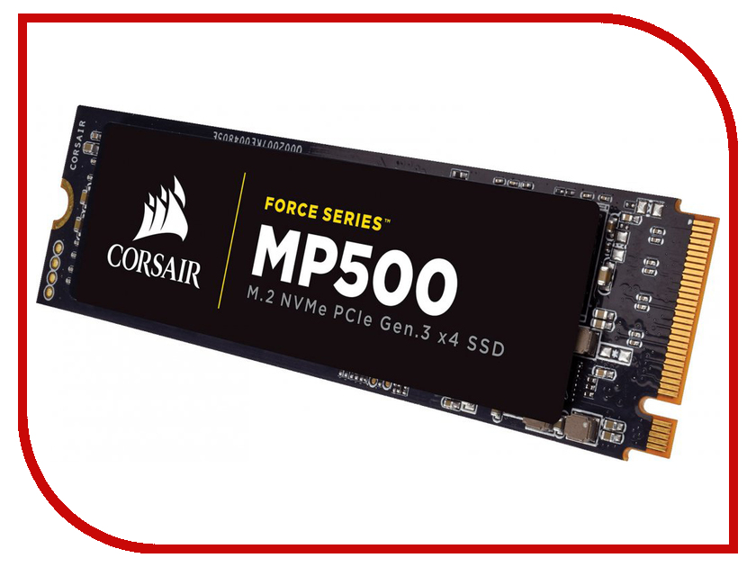 Жесткий диск 240Gb - Corsair Force Series MP500 SSD CSSD-F240GBMP500 ssd corsair force ls cssd f240gblsb