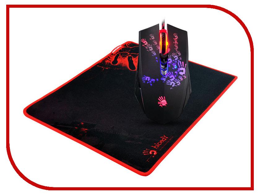 Мышь A4Tech A6081 Black USB цена и фото