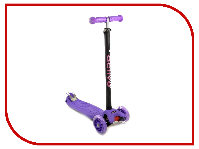 Самокат Triumf Active Maxi Flash Purple