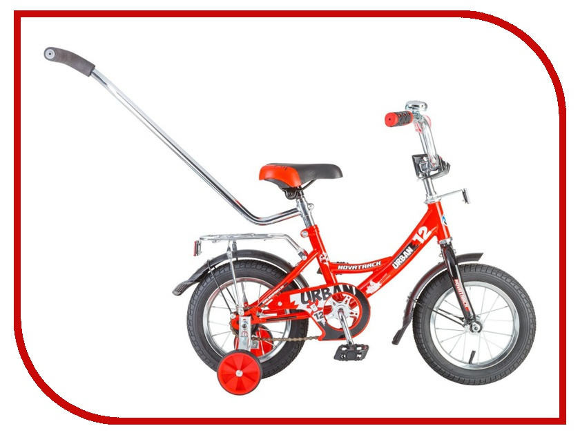 Велосипед Novatrack Urban 12 2016 Red 124URBAN.RD6 детский велосипед novatrack urban х71593 к 2016 cherry