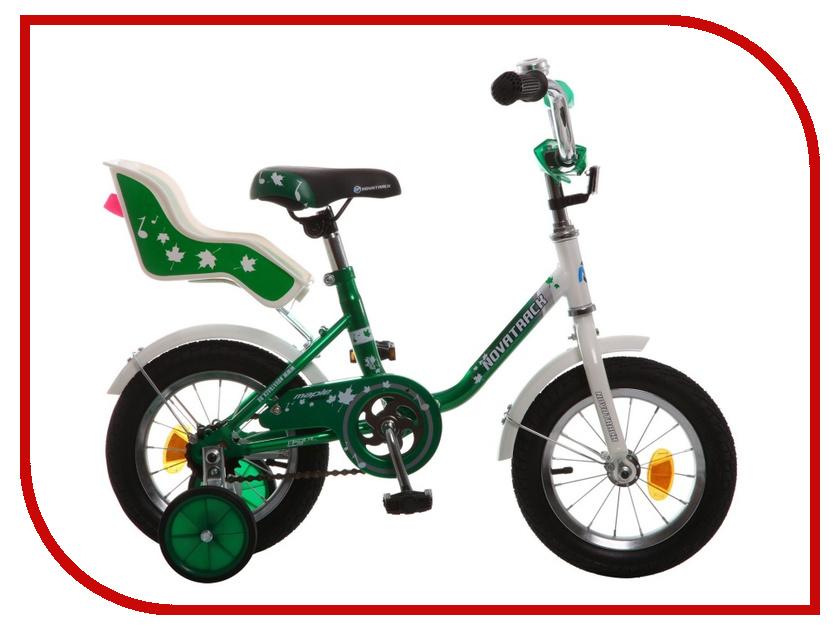 Велосипед Novatrack Maple 12 2015 Green 124MAPLE.Gn5 велосипед novatrack extreme x44120 к green