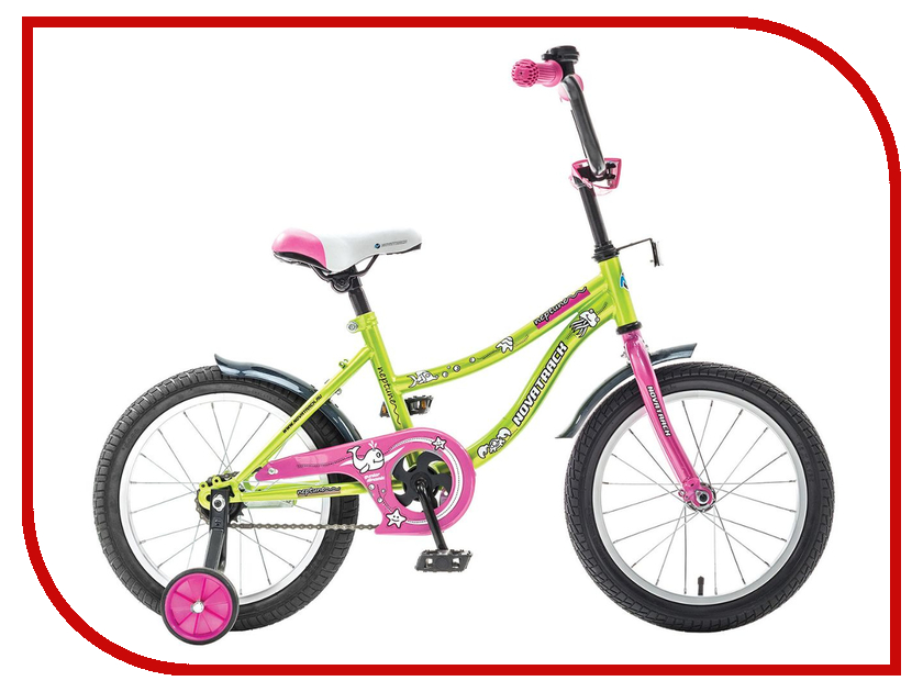 Велосипед Novatrack Neptune 12 2015 Light Green 123neptun.GN5 детский велосипед novatrack neptune 16 2015 blue