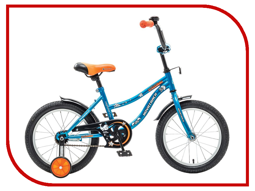 Велосипед Novatrack Neptune 12 2015 Blue 123neptun.bl5 детский велосипед novatrack neptune 16 2015 blue