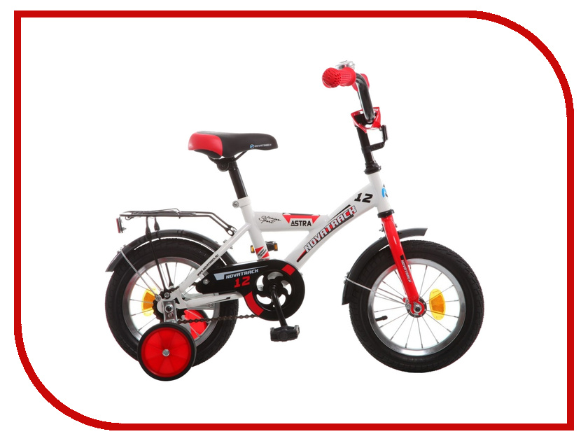 Велосипед Novatrack Astra 12 2015 White 123ASTRA.WT5 велосипед novatrack astra 14 098572 белый