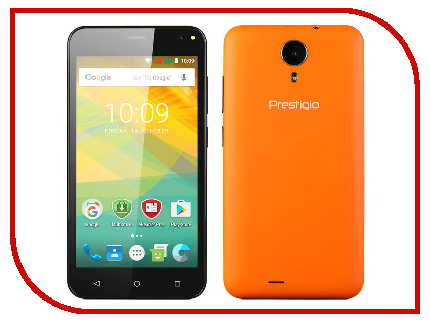 Сотовый телефон Prestigio Wize NV3 Orange