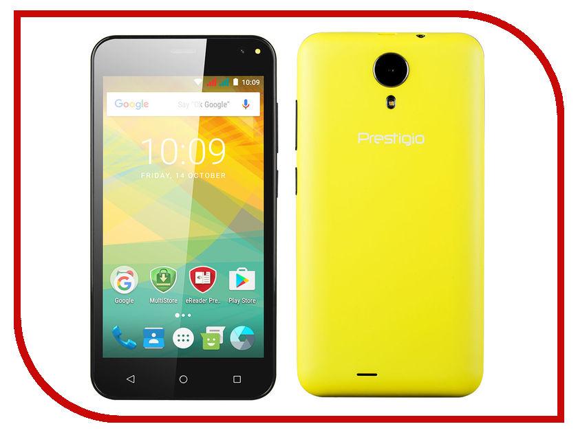 Сотовый телефон Prestigio Wize NV3 Yellow