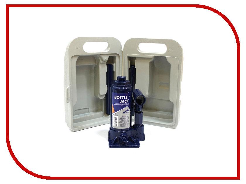 Домкрат Nova Bright 2т 140-312мм 03009 в чемодане бутылочный домкрат schwartz 911 sj 2 2т