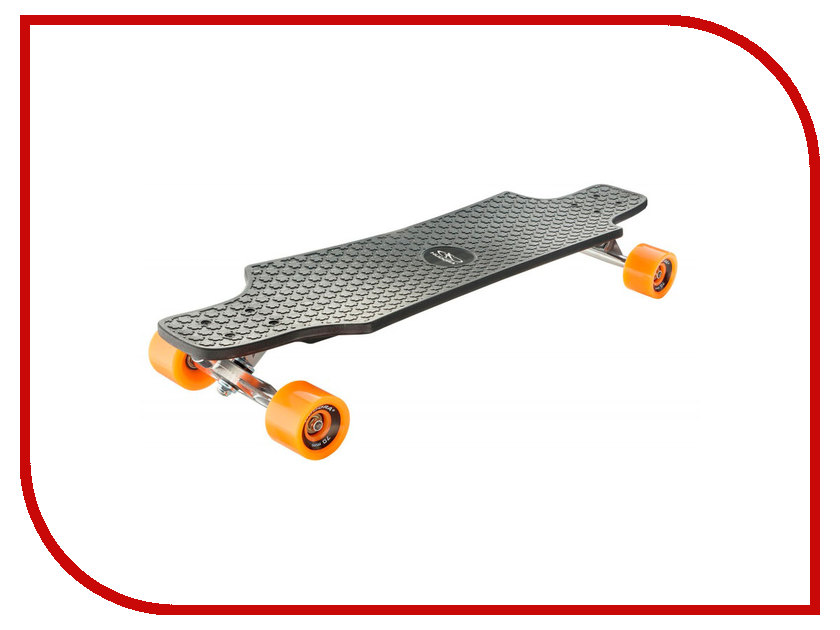 Скейт Hudora Longboard Fun Cruise Black