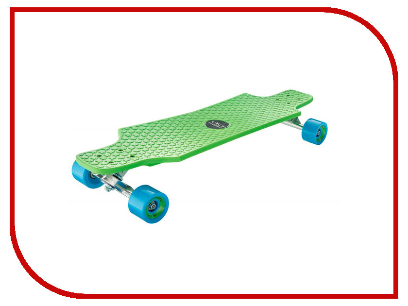 Скейт Hudora Longboard Fun Cruise Green