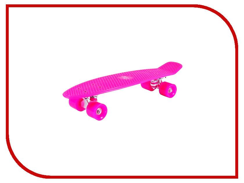 Скейт Hudora Retro Pink 12135