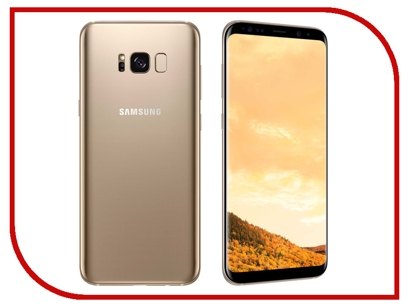 Сотовый телефон Samsung Galaxy S8 Plus G955F Gold