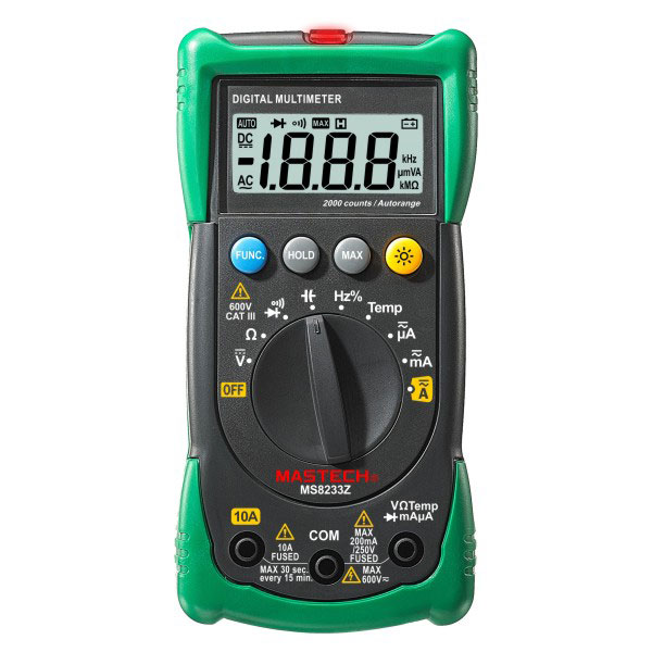 Мультиметр Mastech MS8233D mastech ms8211 pen type digital multimeter non contact ac detector