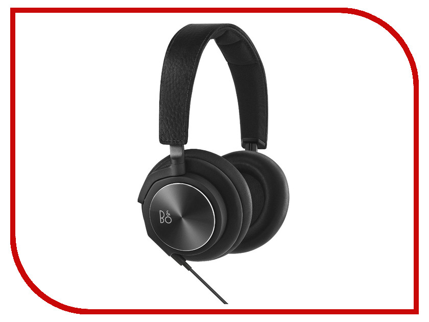 Гарнитура Bang & Olufsen BeoPlay H6 2nd Generation Black Leather