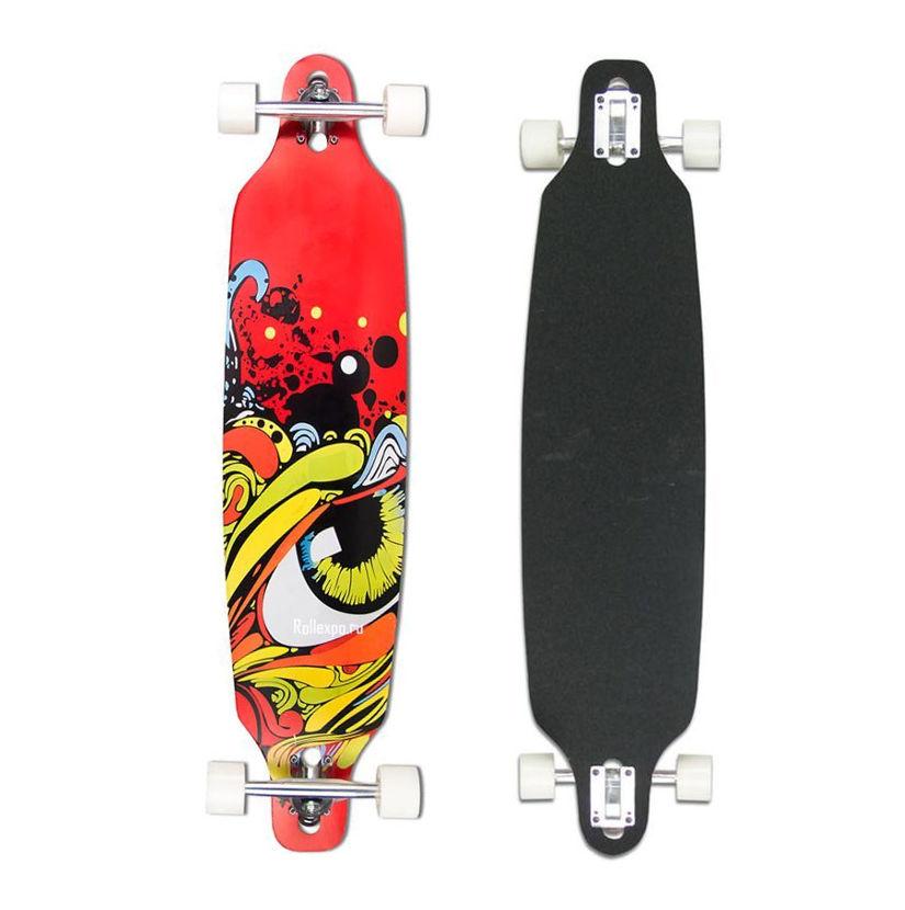 Скейт Maxcity MC Long Board 40 EYE скейт maxcity pegas