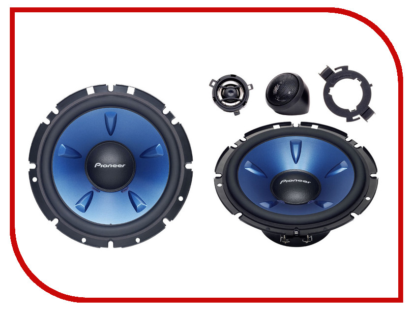 Автоакустика Pioneer TS-H1703 зарядное устройство ev peak c4ev f0304