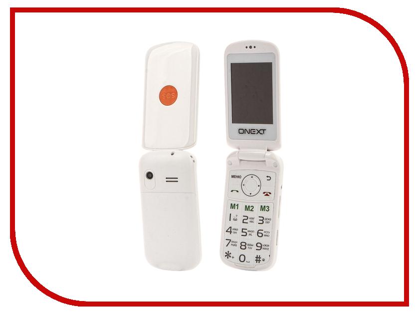 Сотовый телефон Onext Care-Phone 6 White мобильный телефон onext care phone 6 black черный