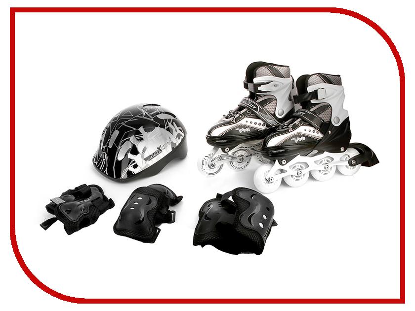 Коньки Maxcity Volt Combo 35-38 Black