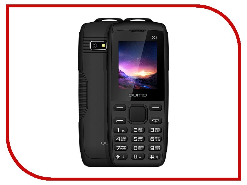 Сотовый телефон Qumo Push X2 Black