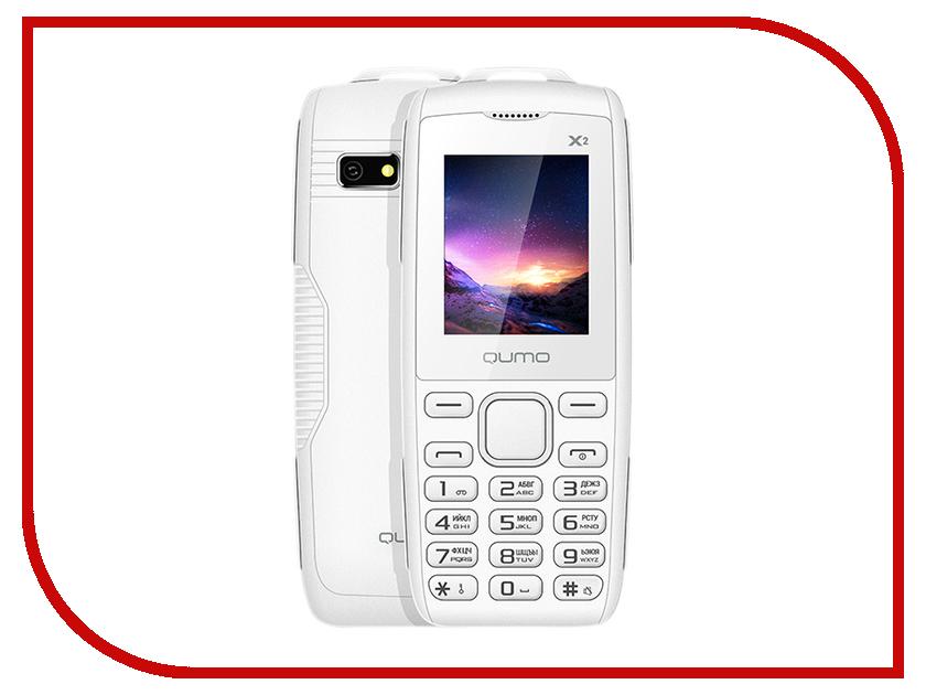 купить Сотовый телефон Qumo Push X2 White недорого