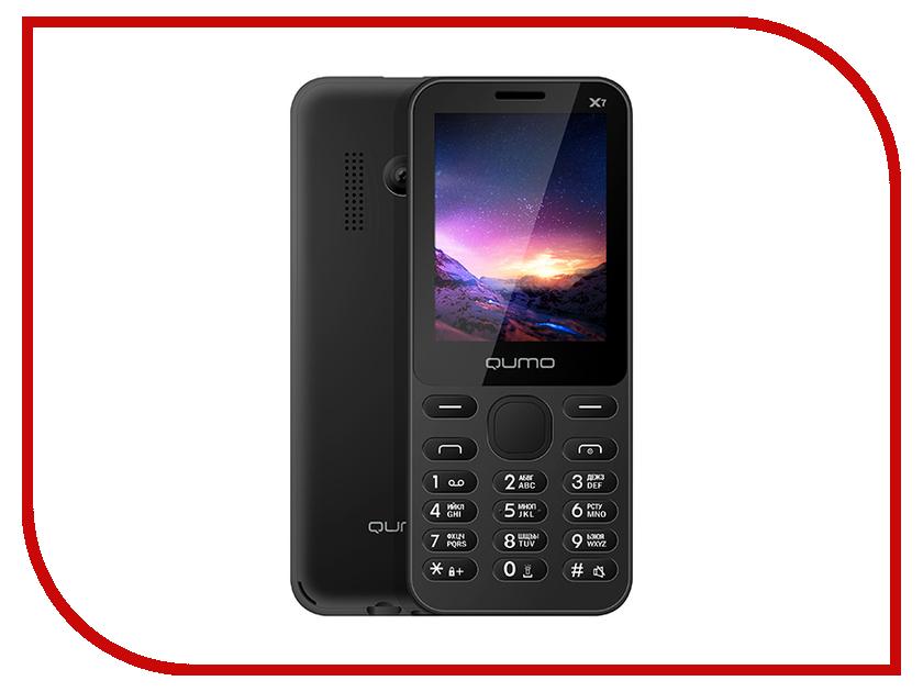 Сотовый телефон Qumo Push X7 Black