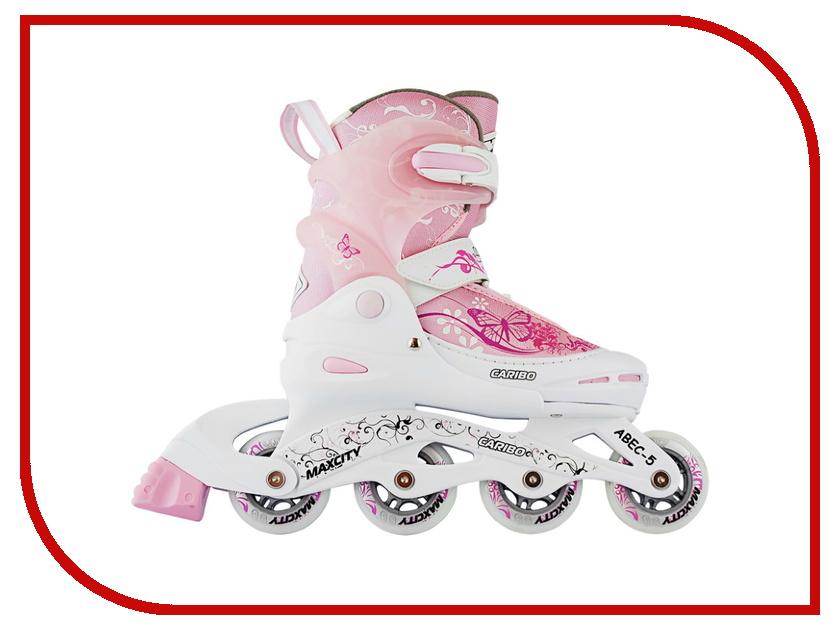 Коньки Maxcity Caribo Combo Girl 30-33 Pink