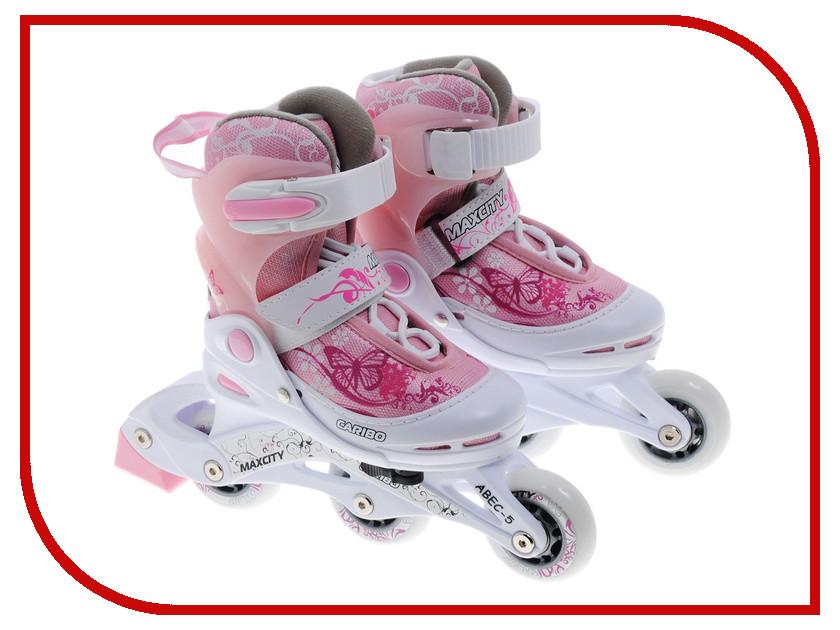 Коньки Maxcity Caribo Combo Girl 26-29 Pink