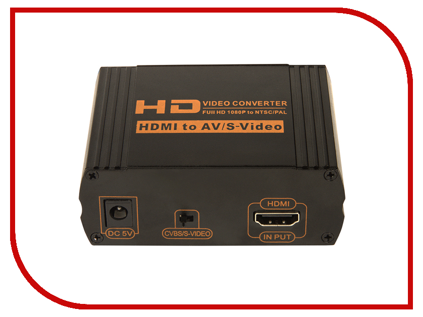 Цифровой конвертер Greenconnect Greenline HDMI - AV + S-Video GL-HD2AV