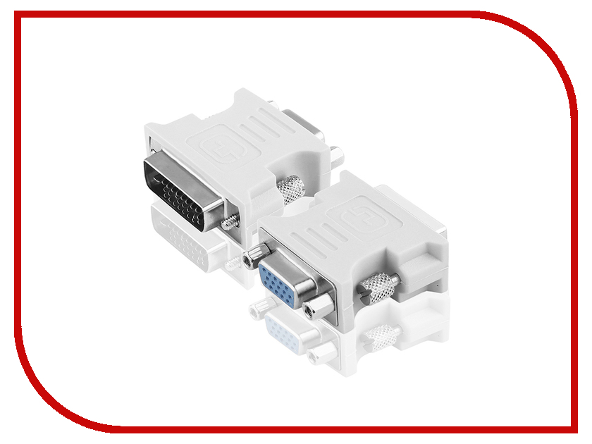 Аксессуар Greenconnect Greenline DVI-D - VGA 24+1М / 15F GL-CV103D