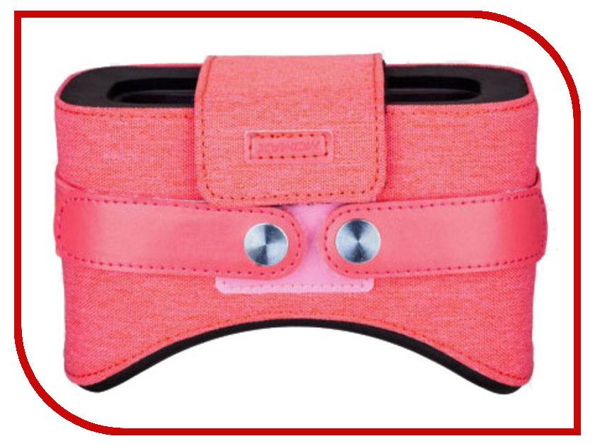 Очки виртуальной реальности MOMAX Stylish VR Box Pink