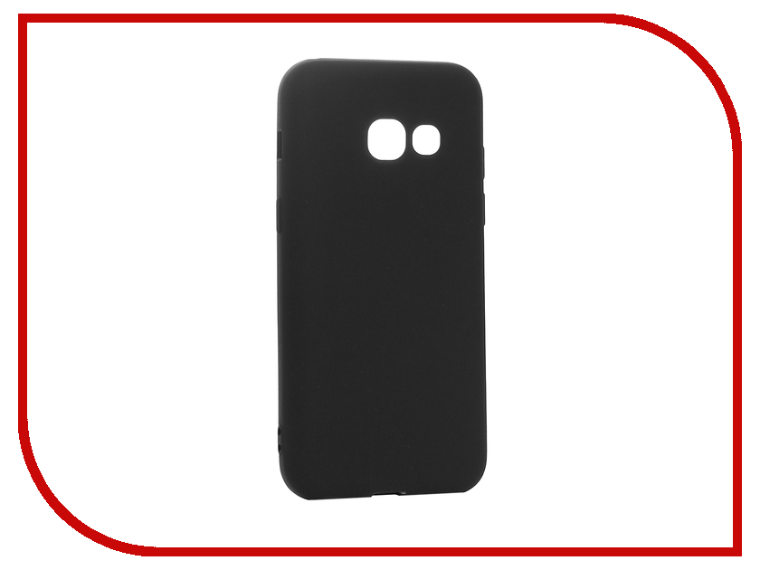 Аксессуар Чехол Samsung Galaxy A3 2017 Cojess TPU 0.8mm S Black Mate аксессуар чехол samsung galaxy a3 2017 cojess tpu 0 5mm transparent